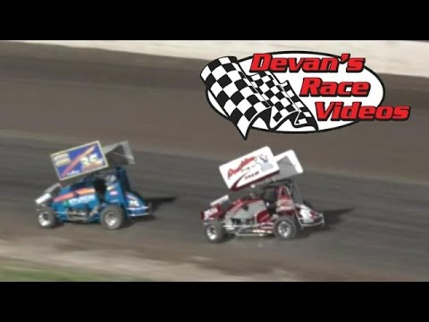 July 4, 2015 | RMLSA Lightning Sprint A-Main | Dodge City Raceway Park