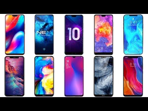 Лучшие смартфоны 2018.