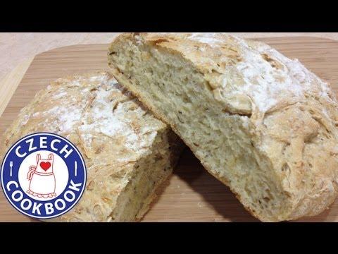 European Potato Bread Recipe - Domácí chléb - Czech Cookbook