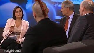 TV-Eklat: Maischberger demütigt AfD-Mann - und muss sich sofort entschuldigen |