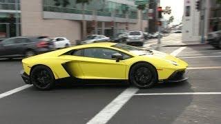 Supercars of Beverly Hills 2nd Edition! Lamborghini Aventador, Bugatti Veyron, Ferrari, McLaren