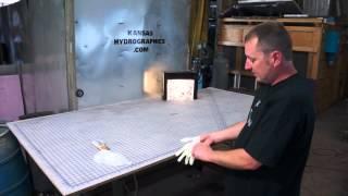 Kansas Hydro tests the new Saber Tiger print.
