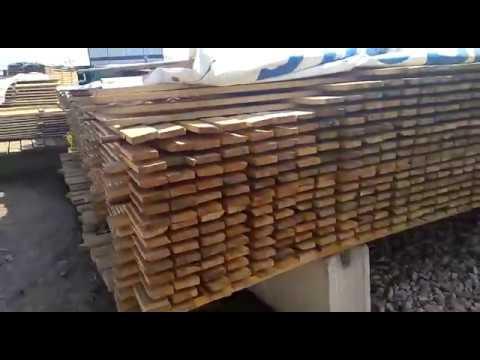 Доска обрезная ель/сосна сорт ГОСТ. Размер  25х100.
