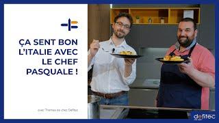 La recette des (vraies) pâtes à la carbonara italienne ! Démonstration avec le Chef Pasquale