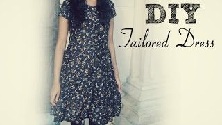 ✄ DIY: How to sew a dress without a pattern ✄