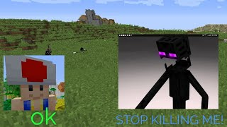Trolling a kid that is easily triggered!   Minecraft trolling video