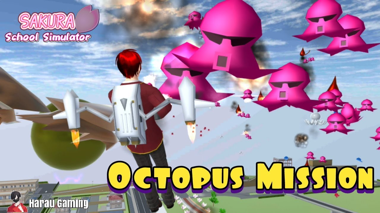 Octopus Mission Sakura School Simulator Youtube