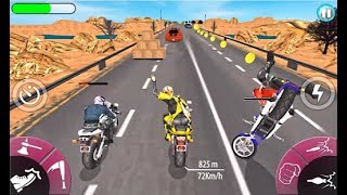 New Bike Attack Race - Bike Tricky Stunt Riding - Game Gameplay Trailer (Android, iOS) HQ screenshot 2