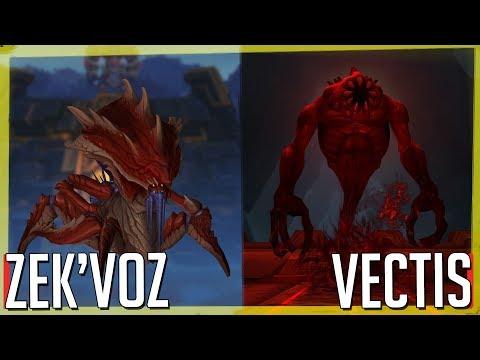Uldir (Normal), Zek'voz & Vectis - DH Tank [VOD - WoW BfA]