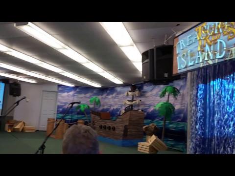 2017 05 Musical Chapel with Christopher & SuperStar Friend Santa Clara Christian School