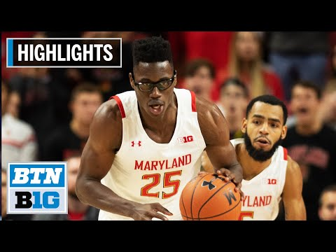 Highlights: Smith Scores 19 in Win | Rhode Island at Maryland | Nov. 9, 2019
