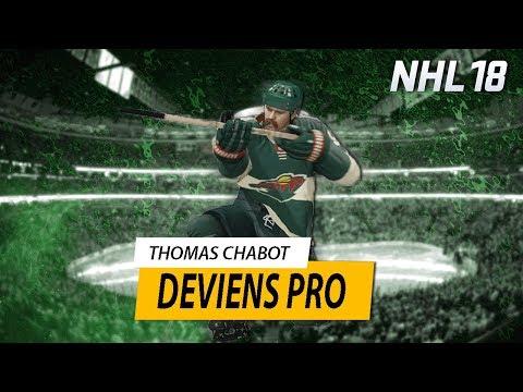 NHL 18: Be A Pro #4 - BONJOUR MINNESOTA!