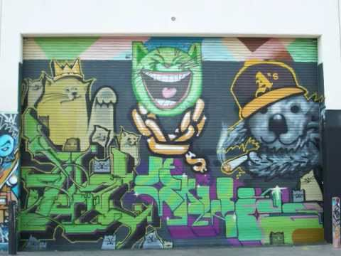 Excellent L.A. Graffiti and Street Art