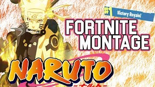 NARUTO SKIN MONTAGE [FORTNITE]