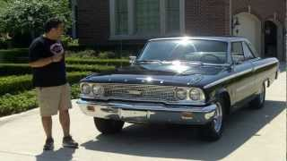 1963 Ford Galaxie Fastback Classic Muscle Car for Sale in MI Vanguard Motor Sales