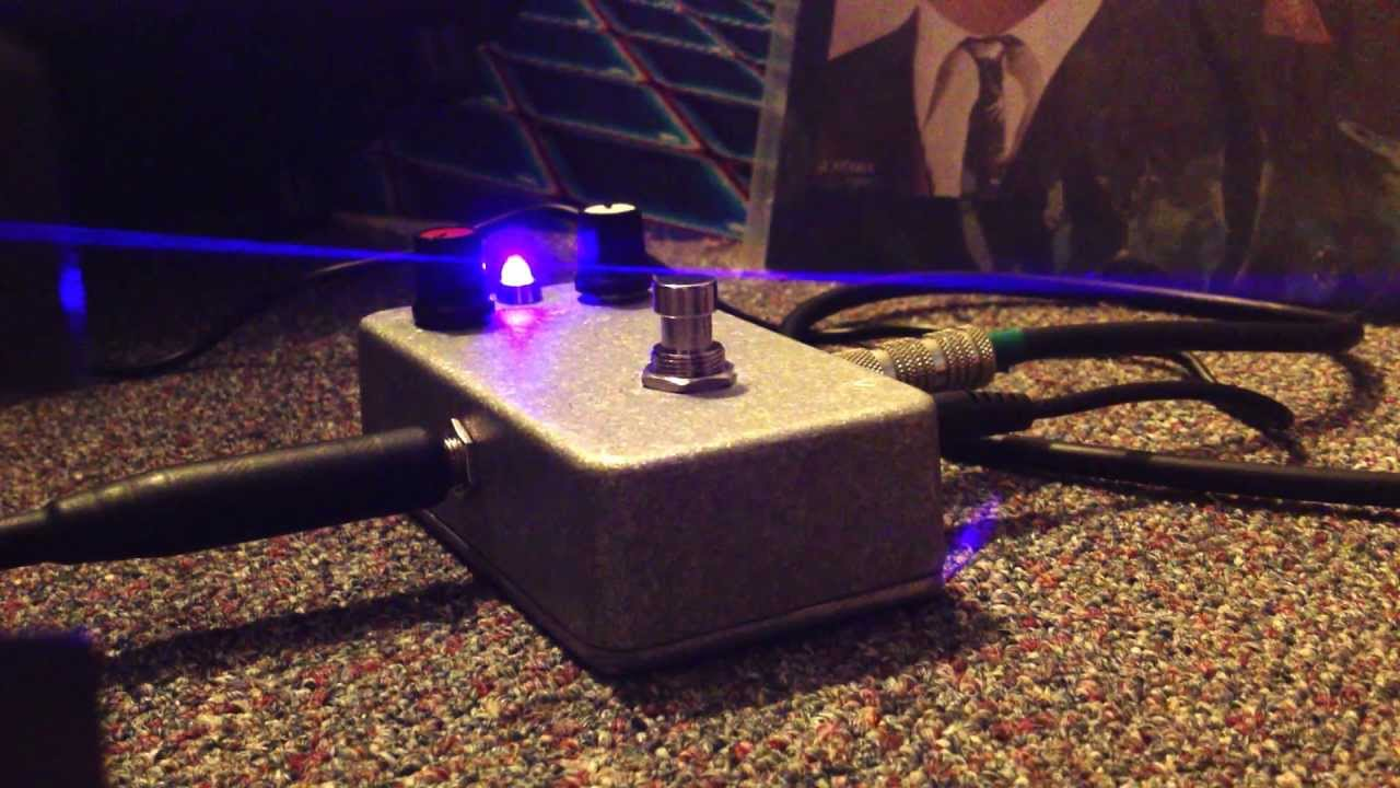 medium resolution of first distortion pedal build