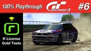 Gran Turismo 3 - #6 - R License Gold Tests (100% PT)