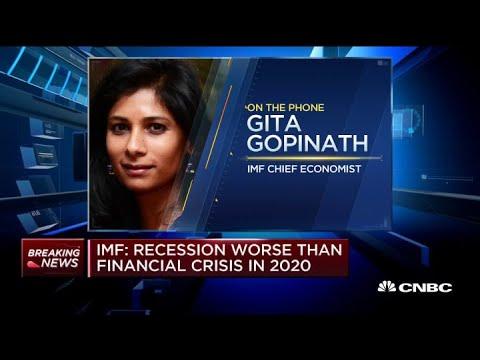 Coronavirus-driven recession could be worse than 2008 financial crisis: IMF's chief economistKaynak: YouTube · Süre: 4 dakika2 saniye