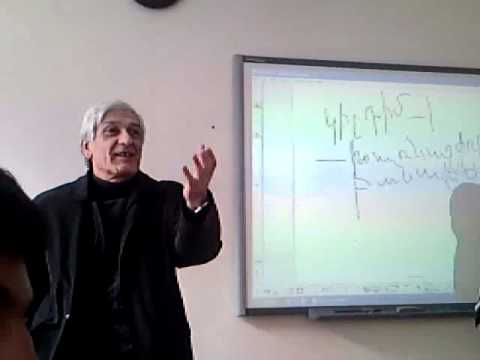 Armenian mathematics lesson