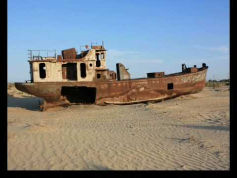 Moynaq, Uzbekistan - former Aral Sea fishing port