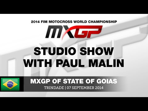 MXGP of State of Goias 2014 Studio Show with Stefan Everts, Shaun Simpson & Antti...