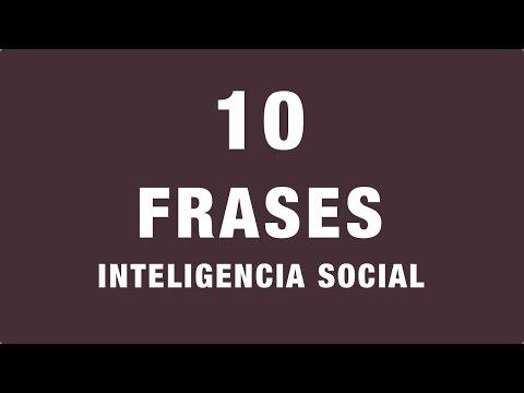 10 Frases Sobre Inteligencia Social Citas Célebres Youtube