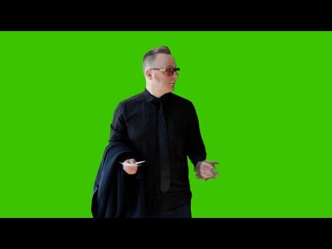 Tomas Tulpe Confused - Green Screen that inspired John Travolta