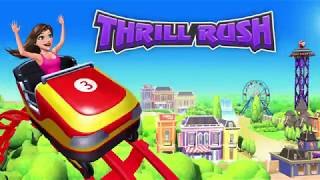 Thrill Rush trailer: fast racing game for theme park and roller coaster fans