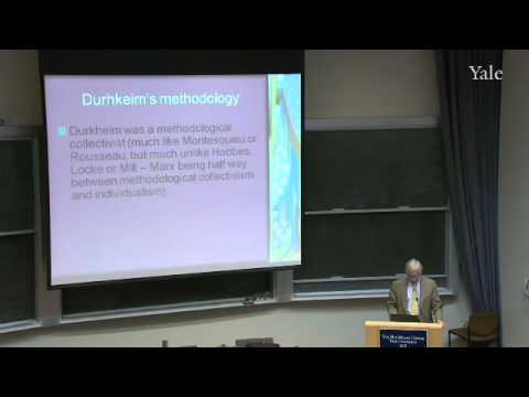 22. Durkheim and Types of Social Solidarity