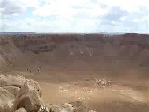 (45-meter) Meteor that created this meter crater
