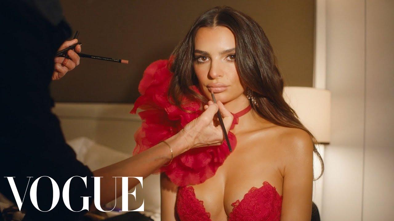 Download Behind Emily Ratajkowski's Dream Met Gala Dress | Vogue