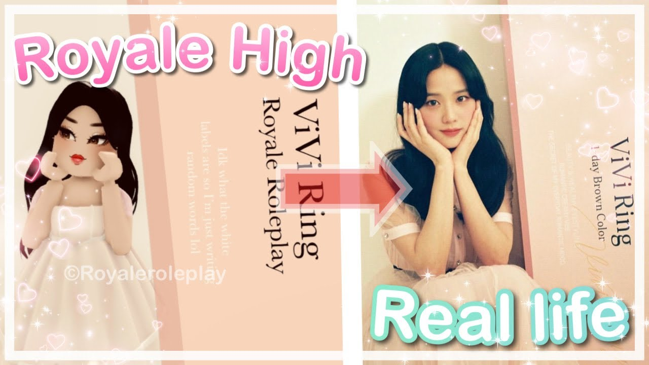 RECREATING Blackpink's Insta Posts On Royale High!    Royale Roleplay    Royale High