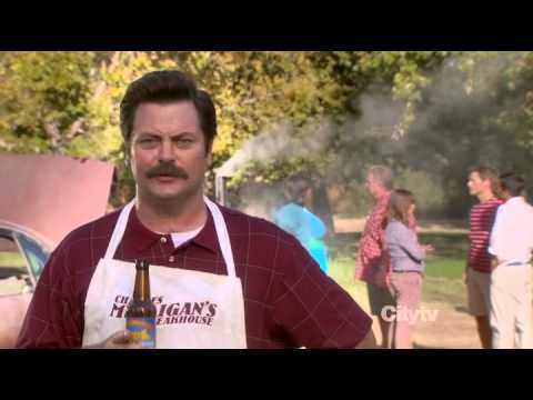Ron Swanson Meat Love