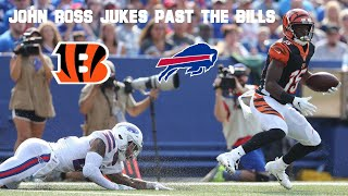 John Ross Embarrassed the Bills with Nasty Touchdown Run (2018 NFL Preseason)