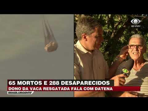 Sobreviventes contam momentos de terror após desabamento