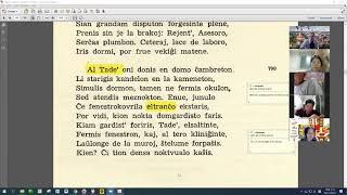 26 | Sinjoro Tadeo 4: 001-100 | Pan Tadeusz – 에스페란토 판 타데우시 4권 공부 (zoom)