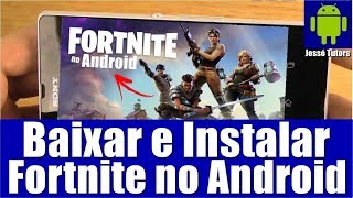 FORTNITE ON ANDROID | HOW TO DOWNLOAD AND INSTALL STEP BY STEP (COMING SOON)