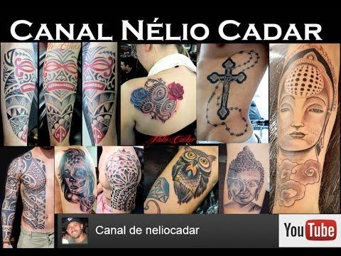 085 Nélio Cadar Tatuando Escudo Flamengo 3d No Igor