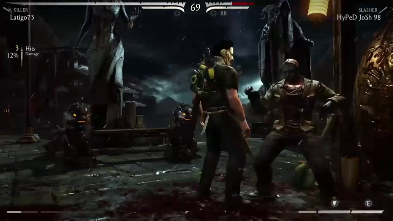 Leatherface Player Gets Double Flawless on MKX Online (F*cks Jason Player  Up)