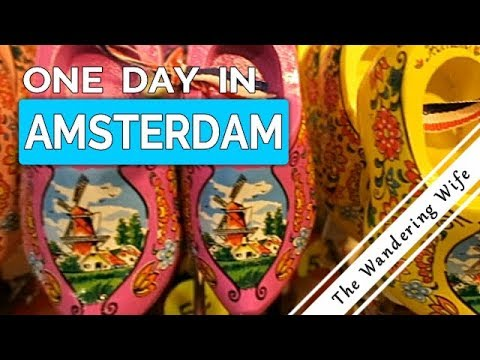 One Day In Amsterdam, Netherlands | TRAVEL VLOG #0076
