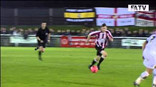 Shortwood United vs Port Vale 0-4, FA Cup First Round Proper 2013-14 highlights