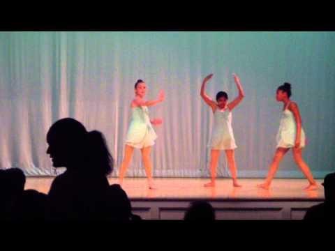 Sabrina dancing at Betsy Ross Arts Magnet School 2013