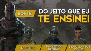 SQUAD FT. PLAYER100REGRAS and SILVIODOLOL-445 WINS (Fortnite Battle Royale free) [EN-BR]-Softe