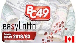 BC Lotto 49 winning numbers 17 Oct 2018