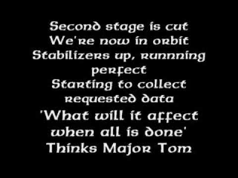 Major Tom Shiny Toy Guns with lyrics