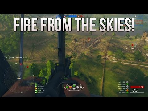 Behemoth Fire From The Skies! (Airship L30) - PS4 Battlefield 1 Road to Max Rank Ep. 63!