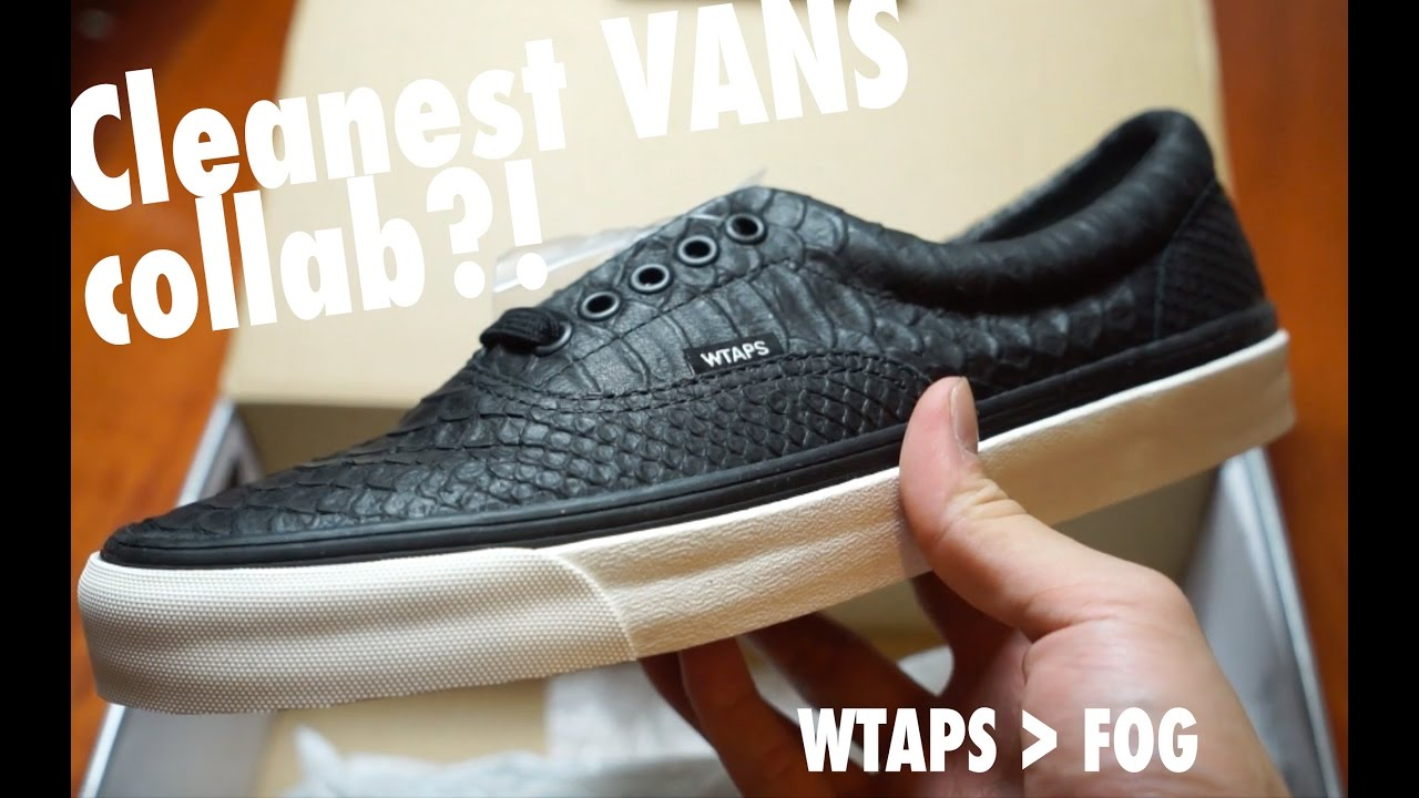 9c76cbbd19204b VANS x WTAPS OG Era LX Detailed Look + On Feet (HD) - YouTube