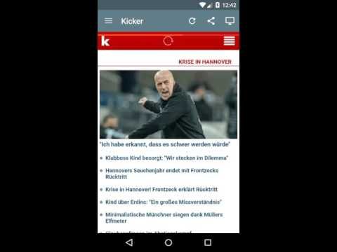 Deutsche Zeitungen Android Application v2