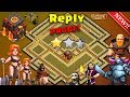 Best Th10 War Base 2017 Vs ANTI EVERYTHING ANTI 2 STAR With Replay PROOF! Anti Valkyrie+Bowler+Golem
