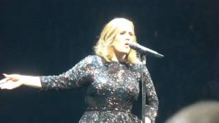 Adele - Water Under The Bridge (HD) - O2 Arena - 21.03.16